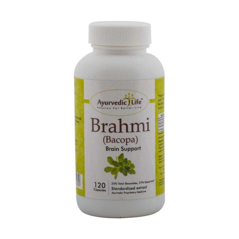 brahmi 120 capsules - ALF2432