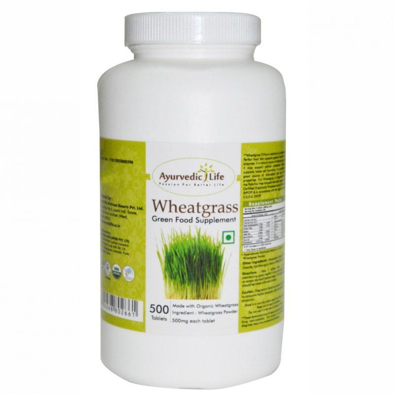 wheatgrass 500 tablet - ALF2621