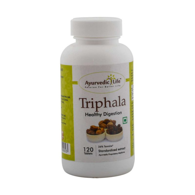triphala 120 tablet - ALF2623
