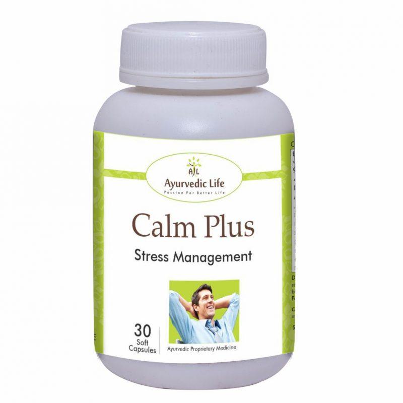 calm plus 30 capsules - ALF3091