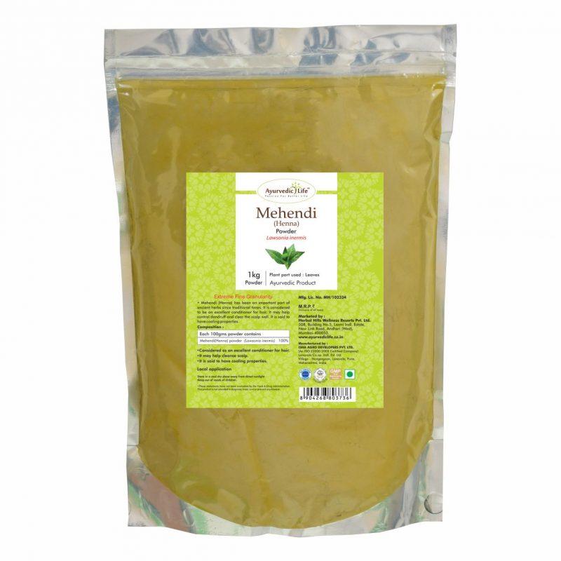 mehandi powder 1 kg - ALF3736
