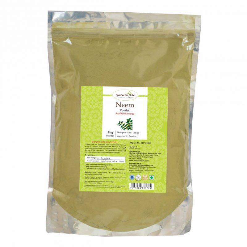 neem powder 1 kg - ALF3774