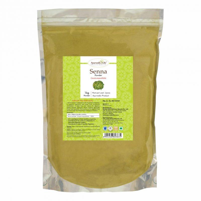 senna powder 1 kg - ALF3835