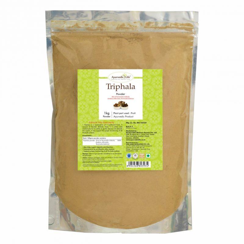 triphala powder 1 kg - ALF3934