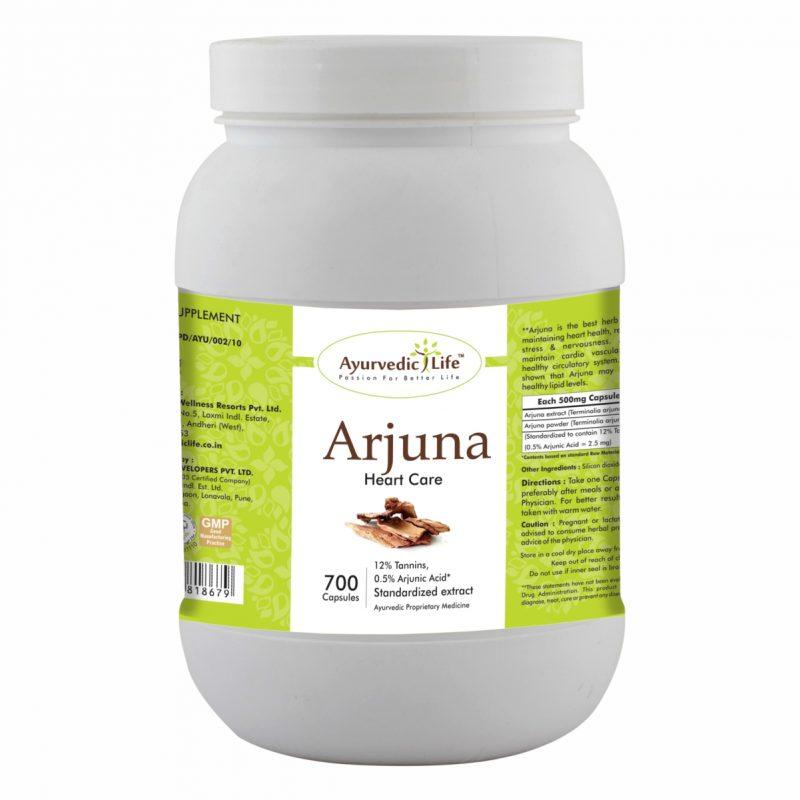 arjuna 700 capsules - ALF8679