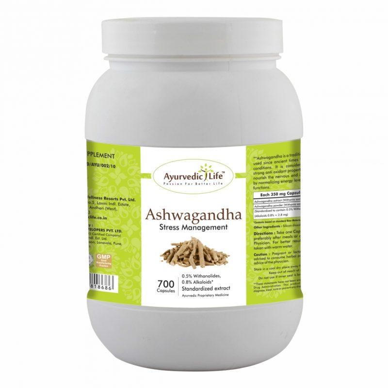 ashwagandha 700 capsules - ALF8686