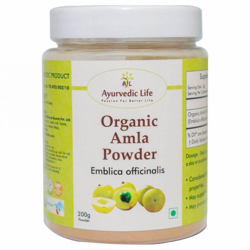 Organic amla powder 200 gm - ALF8843