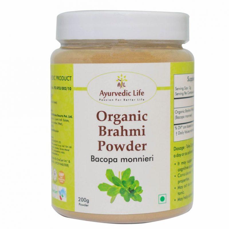 Organic brahmi powder 200 gm - ALF8867