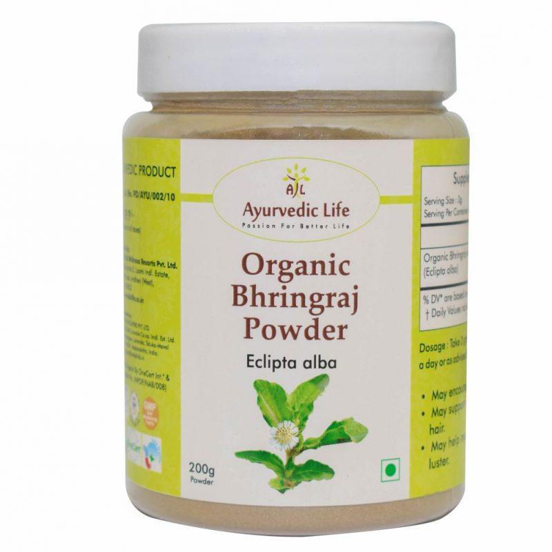 Organic bhringraj powder 200 gm - ALF8911