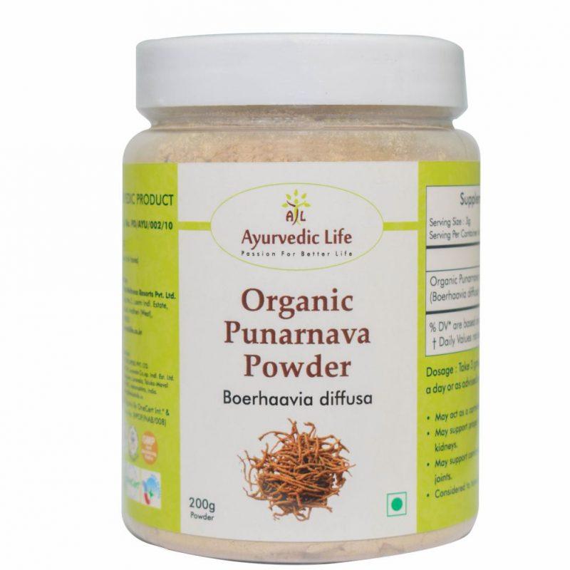 Organic punarnava powder 200 gm - ALF8928