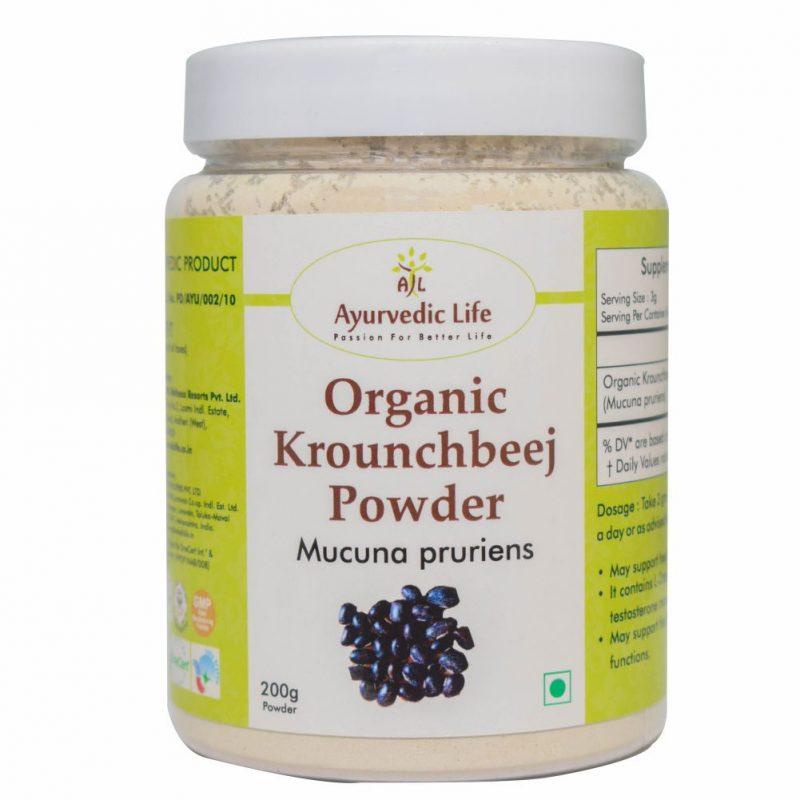 Organic kroucnhbeej powder 200 gm - ALF8935