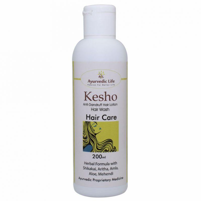 kesho vedic hair wash - 200 ml - ALF3251