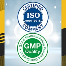 Manufacturing Certificates ISO, GMP